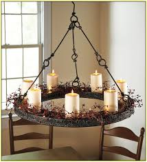 Outdoor Chandelier Diy Diy Chandelier Candle Holder Musethecollective