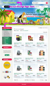 Listing Templates Dog Food Supply Professional Ebay Store Templates Listings