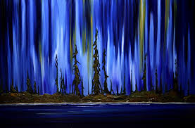 how to paint northern lights northern lights paintings paintings of canada