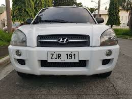 hyundai tucson second second hyundai tucson 2007 crdi for sale used cars philippines