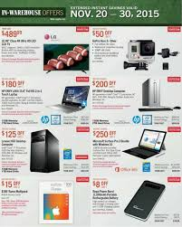 costco thanksgiving deals costco u0027s huge pre black friday sale ad posted killer prices on