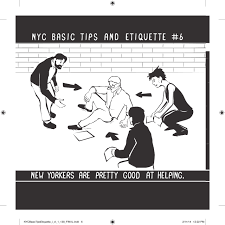 nyc basic tips and etiquette nathan pyle 9780062303110 amazon
