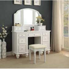 Mirrored Bedroom Set Furniture by Makeup Tables And Vanities You U0027ll Love Wayfair
