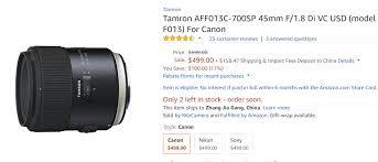amazon black friday ad canon t6s deals lens rumors