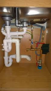 Plumbing How Can I Clear A Slow Running Kitchen Drain Home - Kitchen sink u bend