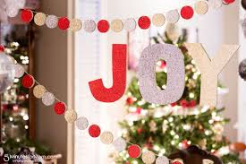 Easy Diy Christmas Tree Garland Easy Diy Christmas Garland 5 Minutes For Mom