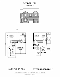 quad level house plans exle6715