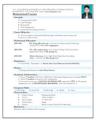 Sample Resume Format Download For Freshers by Amusing Resume Format Download In Ms Word For Fresher Also Resume