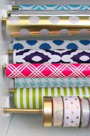 present wrapping station 33 ways to organize your gift wrapping essentials