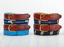 mens ribbon belts yri custom designs