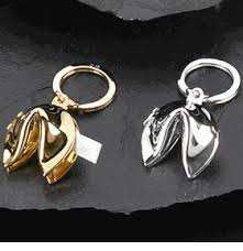 fortune cookie keychain fortune cookie key chain makes a great asian favor as low as
