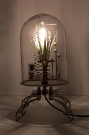 340 best steam punk images on pinterest steam punk steampunk kerplunk bell jar lamp anthropologie com i think this lamp is more like a