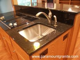 furniture modern kitchen design with black kitchen cabinets and