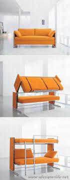 convertible sofa bunk bed resource furniture convertible sofa to bunk bed via a designer life