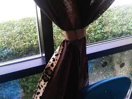 cheetah curtains print for windows