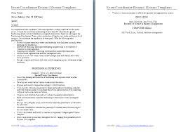 Event Coordinator Resume Sample by Sample Event Planner Resume Objective