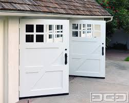 garage doors swing out garage doors clingerman custom wood