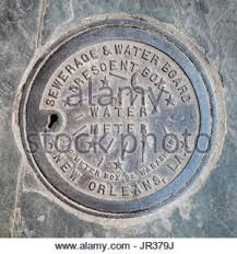 new orleans water meter water meter cover stock photo royalty free image 122562162 alamy