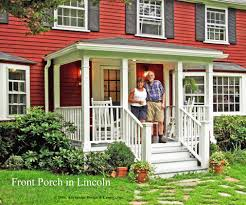 kind porch home suburban boston deck front porch designs for