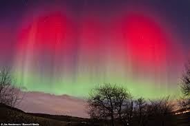 Pictures Of Northern Lights Northern Lights Captured In The Skies Over Aberdeen Awe Inspiring
