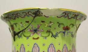 Chinese Vases Uk Couple U0027s Cracked Pot Is 19th Century Chinese Vase Uk News