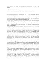 sample of college essays essays for college admission for summary sample with essays for essays for college admission also format with essays for college admission