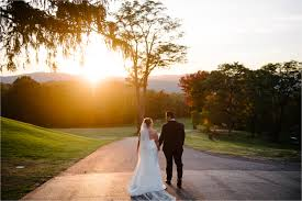 Wedding Venues Upstate Ny Wedding Portrait At Sunset At The Garrison Upstate Ny Hudson