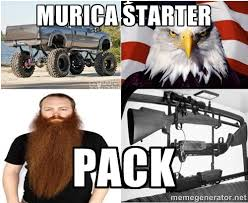 Meme Generator Starter Pack - murica starter pack