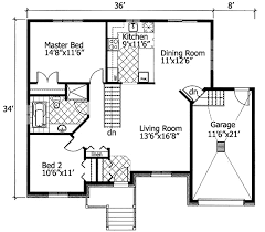 plan 90204pd barrier free bungalow free floor plans narrow lot
