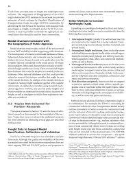 d agement bureau chapter 3 research to fill critical gaps freight demand modeling