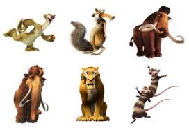ice age cartoon iconset 4 icon2s download free icons