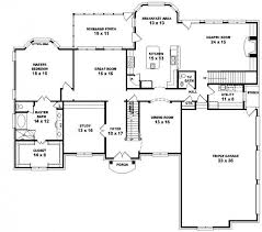 5 bedroom floor plans 653616 2 story style floor plan with 5 bedrooms house