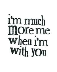 when i m with you quote