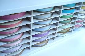 seam binding ribbon such pretty things pretty organized ribbon storage