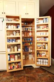 Kitchen Pantry Ideas For Small Spaces Pantry Cabinet Food Pantry Cabinets With Kitchen Storage For