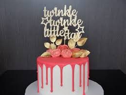 twinkle twinkle cake topper twinkle twinkle cake topper baby shower themed