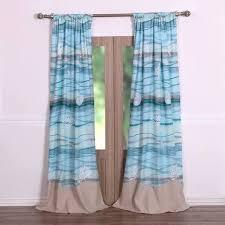 Curtains Birds Theme Coastal Seaside Bedroom Decor Luxury Linens 4 Less