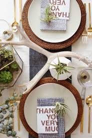 15 diy ideas and inspiration for a modern thanksgiving table