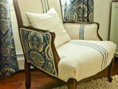 How To Make Dining Room Chair Slipcovers How To Make A Custom Dining Chair Slipcover Hgtv