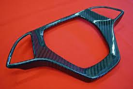 corvette steering wheel cover corvette z51 c7 carbon fiber center steering wheel cover gloss