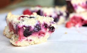 Little Berry Mixed Berry Crumble Bars Sugar Salt