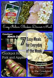 Dinner For The Week Ideas 7 Easy Meals For Every Day Of The Week Family Dollar