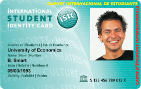 photo card tu international student identity card isic tu