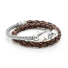 bracelet silver leather images Leather bracelets silver clasps dani cremer jpg