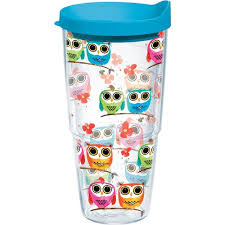 tervis owls 24 oz tumbler with lid academy