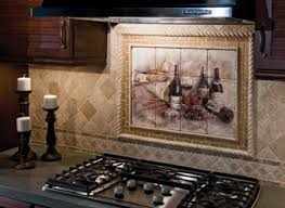 kitchen mural backsplash kitchen astounding kitchen backsplash mural wine cellar