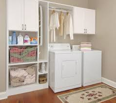 Laundry Room Cabinets With Hanging Rod Laundry Room Cabinets With Hanging Rod