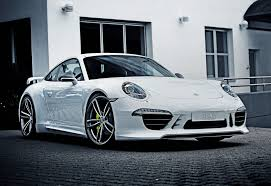 2014 porsche 911 carrera 4 coupe by techart front photo white