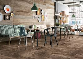 How To Make Furniture Look Rustic by Wood Look Tile 17 Distressed Rustic Modern Ideas