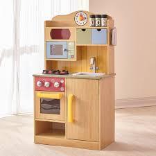 Furniture Kitchen Set Teamson 5 Chef Wooden Play Kitchen Set With